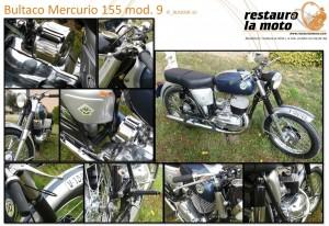 Restaura la moto Bultaco Mercurio mod 9