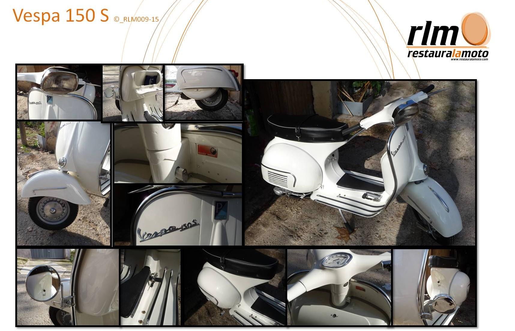 Restaura la moto - Vespa 150 S