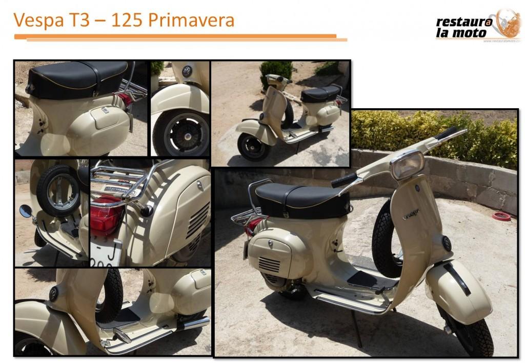 Vespa T3 - Primavera