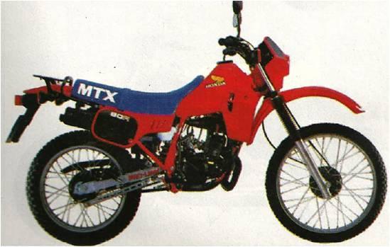 Honda MTX 75 - 1986