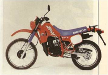 Honda MTX 75 - 1987