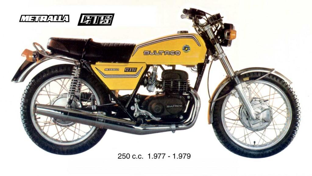 Bultaco Metralla GTS
