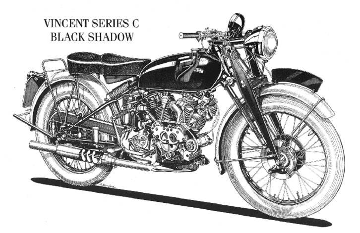 Vincent Black Shadow sèrie C