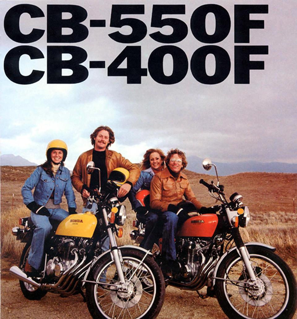 Honda CB550F i CB400F