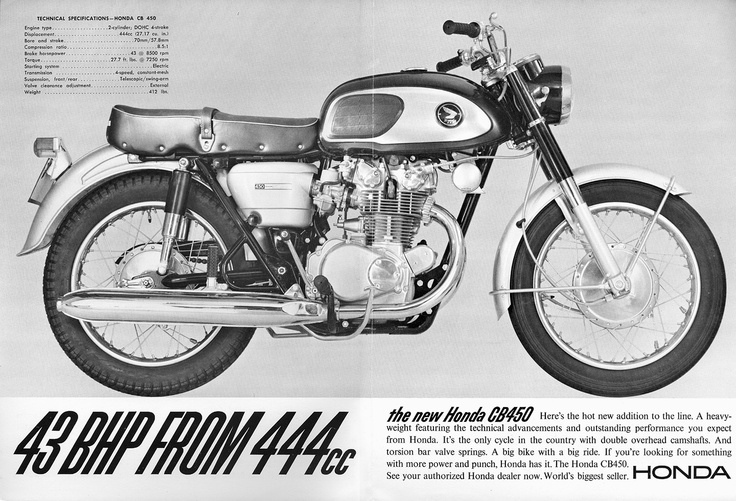 Honda CB450 Dream