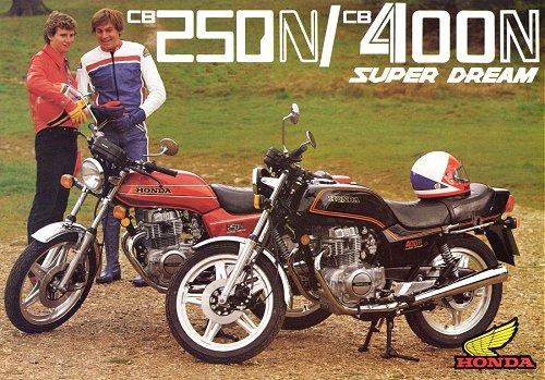 Honda CB250 i CB400 Superdream
