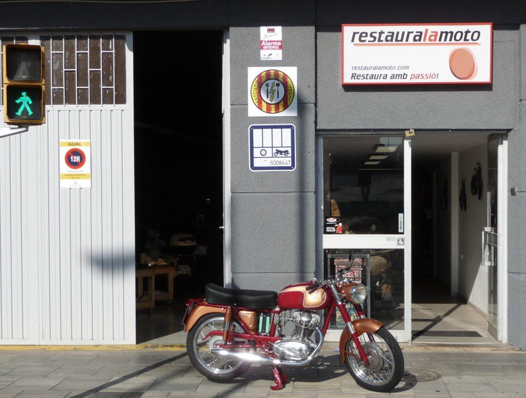 RLM Ducati 175 TS