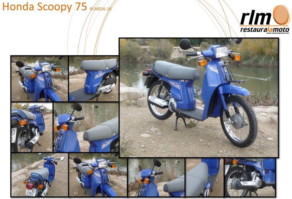 Recuperació Honda Scoopy SH 75